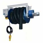 Motorový elektrický navíjač Filcar AMA-MAXI - zostava s ventilátorom
